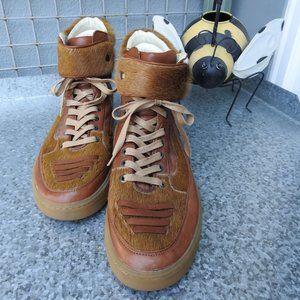 Alexander McQueen Brown Mens Shoes Sz 11